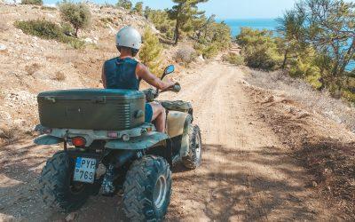 Een quad huren op het eiland Karpathos